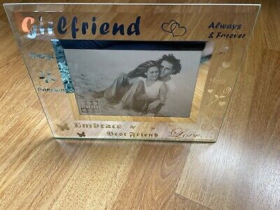£4.50 • Buy Girlfriend Photo Frame, Sixtrees, Clear And Silver, New Condition, 4x6in Picture