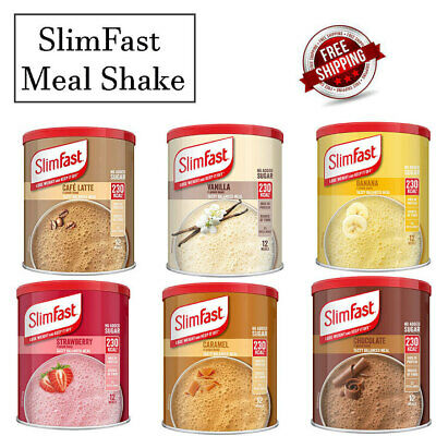 £9.99 • Buy Slim Fast Shake Powder Weight Loss, Diet Drink Sporting Protein Meal Replacement