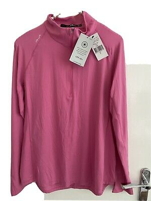£2.50 • Buy Ralph Laure RLX Ladies Golf Top Size L New With Tags With UV Protection RRP £125