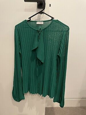 AU150 • Buy Scanlan Theodore Size 10 Crepe Knit Top