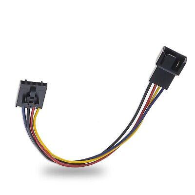 £3.95 • Buy 5 Pin To 4 Pin Fan Connector Conversion Cable Compatible With Dell 1 Pc/2 Pcs