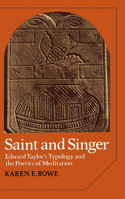 £64.50 • Buy Saint And Singer: Edward Taylor's Typology And The Poetics Of Meditation