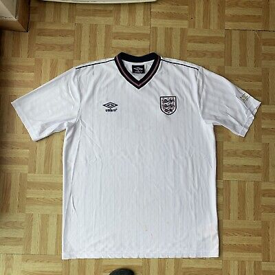 £41 • Buy 1984 86 87 UMBRO Reissue England 1986 World Cup Home Shirt XL Adult Classic Home