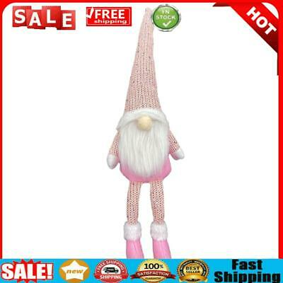 £4.15 • Buy Nordic Style Christmas Faceless Doll Ornament Home Desk Decorations (Pink)