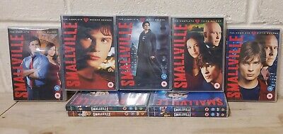 £14.99 • Buy Smallville The Complete Seasons 1-9 NO BOX - One To Nine GOOD (L6)