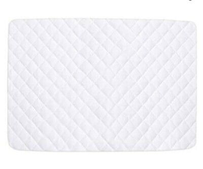 £12.99 • Buy Travel Cot Mattress Protector Waterproof, 95 X 65 Cm Quilted Bamboo Mattress Pad
