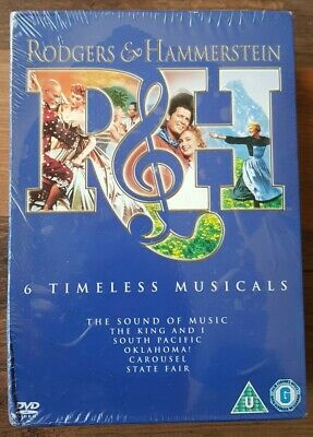 £8 • Buy Rodgers And Hammerstein Collection (DVD, 2008, 6-Disc Set, Box Set) NEW / SEALED