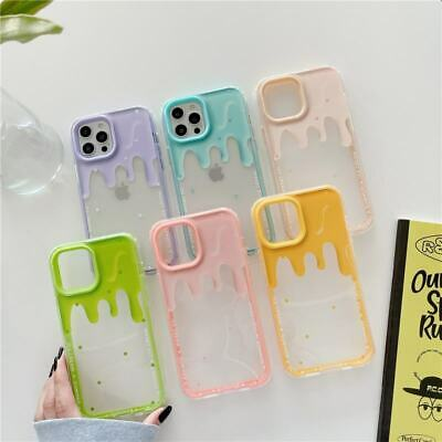 AU7.53 • Buy 3 In 1 Clear Summer Icecream Phone Cover Case For IPhone 12 Pro Max 7 8+ 11 X XR