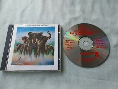 £4.99 • Buy Elvis Costello & The Attractions Cd Armed Forces 1985 Imp Fiend Cd21 12 Tracks