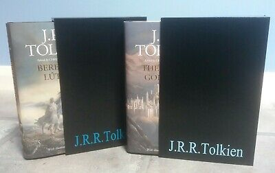 £225 • Buy *SIGNED* + Slipcase 1st Print, Beren And Luthien + The Fall Of Gondolin, Tolkien