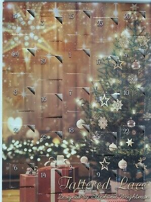 £3.50 • Buy Tattered Lace  2017 Advent Calendar  25 Cutting Dies