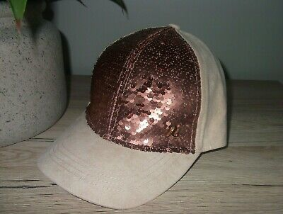 £9.98 • Buy River Island Girls Sequin Hat Baseball Cap Size 9 - 12 Years New Without Tags
