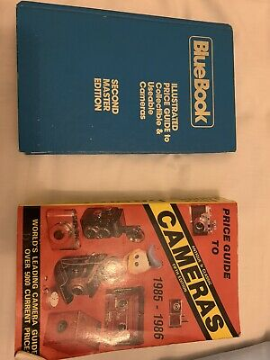 £10 • Buy 2x Old Camera Price Guides As Photos