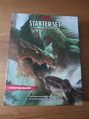 £12.50 • Buy Wizards Of The Coast WTCA92160000 Dungeons & Dragons Starter Set D&D Boxed Game