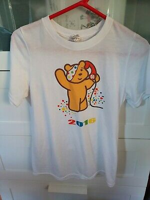 £0.99 • Buy Pudsey Children In Need 2016 White T-Shirt. Size S.