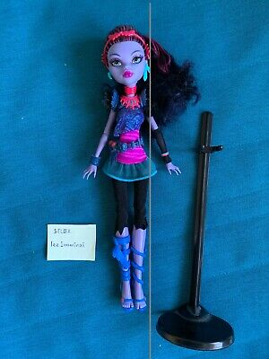 £5 • Buy Monster High Jane Boolittle Doll Used With Stand UK SELLER