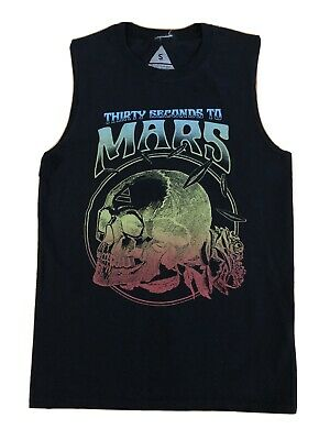 £16.66 • Buy 30 Seconds To Mars Tank Top Made By Mars Size S Rock Alternative Music