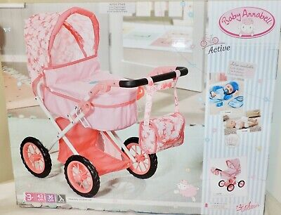 £39.99 • Buy NEW Baby Annabell ACTIVE PRAM SET (704141) W/Matching Bag, For Dolls Up To 43 Cm