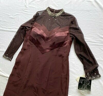£43.39 • Buy RRP 498€ AFTER SIX BY RONALD JOYCE Long Dress Size 16 USA New With Tags