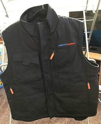 £22 • Buy National Express Bus Coach Driver Uniform Gillet / Body Warmer Size Large