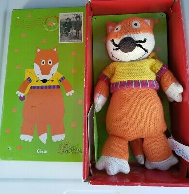 £17.88 • Buy Original La Famille 9  Cesar The Fox Latitude Enfant Wooly Plush Knitted Doll