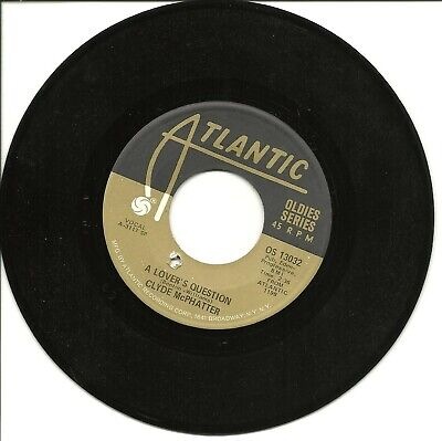 £2.12 • Buy Clyde McPhatter-A Lover's Question/Treasure Of Love-45 RPM-7 -single-vinyl