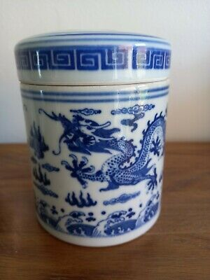 £7.50 • Buy Chinese Porcelain Tea Caddy