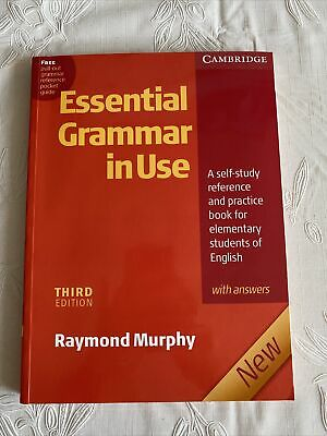 £0.99 • Buy Essential Grammar In Use With Answers: A Self-Study Reference And Practice Book
