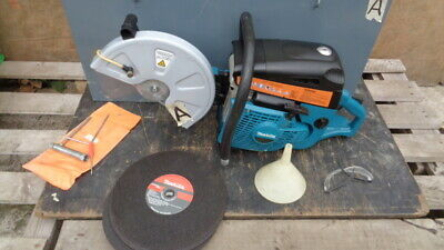 £450 • Buy MAKITA - PETROL FLOOR SAW - DPC 6430 - 64cc - VERY LITTLE USE FROM NEW
