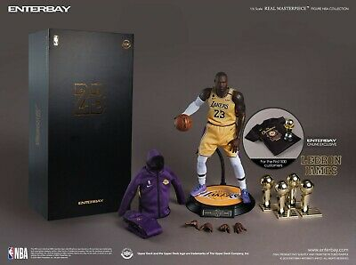 $488 • Buy Enterbay RM-1084 REAL MASTERPIECE LEBRON JAMES 1/6 FIGURE 2.0 New