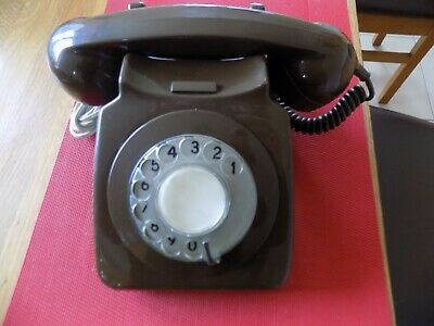 £20 • Buy GPO 746 Brown Telephone. Converted In Good Working Order With Leads