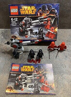 £1.64 • Buy Star Wars LEGO 75034 Death Star Troopers. Complete & With Box. Charity Auction