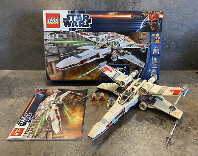 £32 • Buy Star Wars LEGO 9493 X-Wing Starfighter. Complete & With Box. Charity Auction