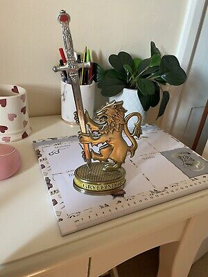 £10.50 • Buy Harry Potter Sword Of Gryffindor Letter Opener With Lion Stand