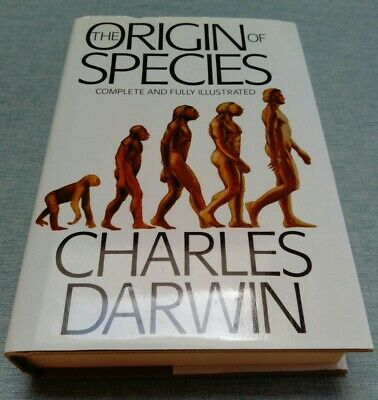 £18.99 • Buy The Origin Of Species By Charles Darwin - Complete And Fully Illustrated HB DJ