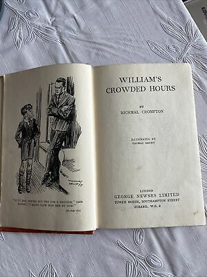 £0.99 • Buy William's Crowded Hours ... Richmal Crompton