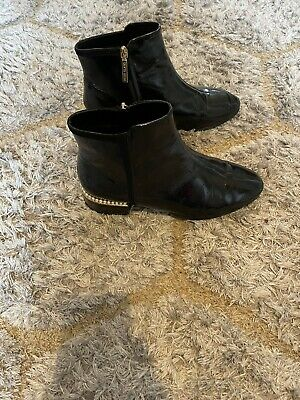 £8 • Buy Womens Black River Island Boots Size 8
