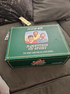 £110 • Buy A Question Of Sport Boardgame BBC Mike Tyson Aryton Senna X 2 RARE Complete.