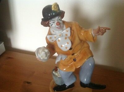£75 • Buy Much Sought After Royal Doulton Figurine The Clown HN 2890