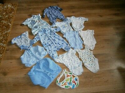 £3.49 • Buy Baby Boy Bundle Clothes 14 Items Age Newborn/3 Month Nice Condition Only 2.99