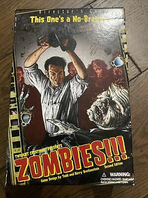 £8 • Buy Zombies!!! Director's Cut 2nd Edition Board Game COMPLETE