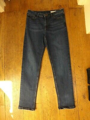 £8.99 • Buy Marks & Spencer Mid Rise Relaxed Slim Denim Jeans...size 10 R...next Day Postage