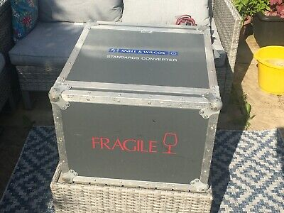 £40 • Buy  19'' Rack Flight Case. 8U With Lids. Foam Lined. Made By CF Cases. Used