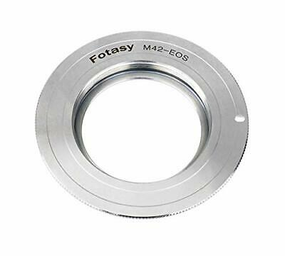 $10.90 • Buy Fotasy Copper M42 Lens To Canon Adapter, M42 EF Adapter,M42 EF-S, Infinity