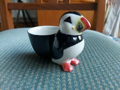 £14.50 • Buy Quail Ceramics  Egg Cup With  Puffin.