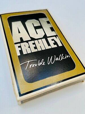 £49.99 • Buy Ace Frehley (KISS) RARE Original 1989 Trouble Walkin' Album Promo Playing Cards