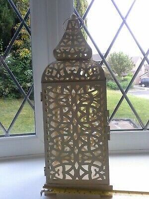 £4.99 • Buy Shabby Chic Moroccan Style Lantern Antique  Candle Holder Vintage Tea Light
