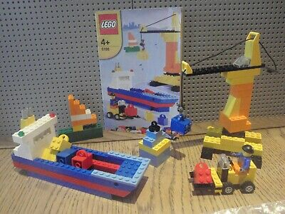 £10 • Buy Lego Classic 6186 Build You Own Harbour (100% Complete)