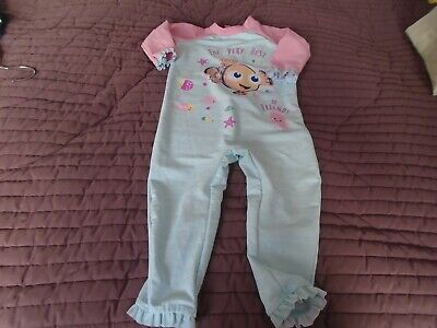 £3.50 • Buy Baby Girls All In One Sun Suit Aged 12-18 Months