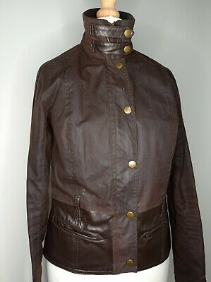 £50 • Buy Barbour Gold Label Wax And Leather Jacket Uk8